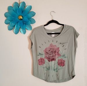 Billabong roses top